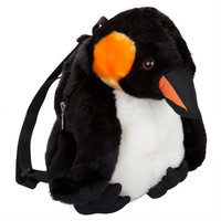 Penguin Body Plush Backpack