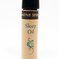 SLEEP OIL - Native Spirit Herbal Remedy Oil for Restful Sleep