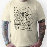 Daniel Johnston Drawing Unisex T-Shirt