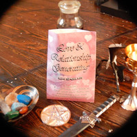 Love Mini Spell Kit - Quick and Easy Spell to Attract Love or Get His/Her Attention - Wicca; Witchcraft