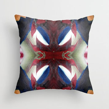 Indoor pillow Double-side print Pillow or pillowcase Square pillow Abstract style Color practice
