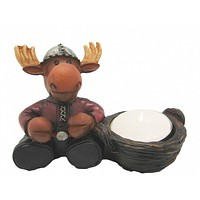 Moose Candle Votive
