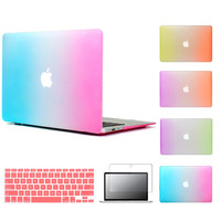 Matte Frosted Case For Macbook Air 11.6 13.3 / Pro 13.3 15.4 Pro Retina 12 13.3 15.4 inch Protector For Mac book air 13 case