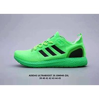 Adidas UltraBoost Popular Women Men Comfortable Breathable Sport Running Shoes Sneakers Green