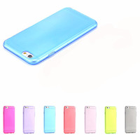 Candy Colors Clear TPU Case For Apple Iphone 6 6s