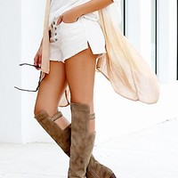 Jeffrey Campbell + Free People Womens Loire Tall Boot