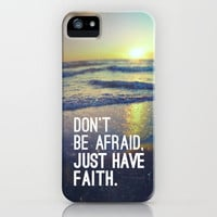 MARK 5:36 - JUST HAVE FAITH iPhone & iPod Case by Pocket Fuel