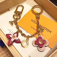 LV Louis Vuitton Trending Stylish Key Chain Bag Hanging Drop Car Key Ring 1#