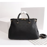 Louis Vuitton Women's Leather Shoulder Crossbody Bag Satchel LV Tote Bags