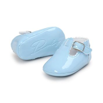Newborn Moccasin Soft Leather First Walkers Boots