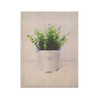 "Danny Ivan ""Plant"" KESS Naturals Canvas (Frame not Included)"