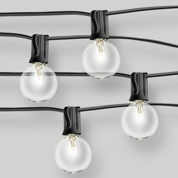 20ct Clear G40 String Lights - Room Essentials™