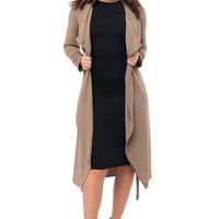 Walk With Me Taupe Duster