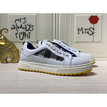 Burberry  Men Fashion Boots fashionable Casual leather Breathable Sneakers Running Shoes07250gh