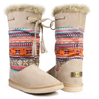 Winter Boots - Alpine Alpaca  ** FINAL SALE **
