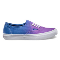 Vans Ombre Authentic Slim Womens Shoes Hollyhock/Surf The Web  In Sizes