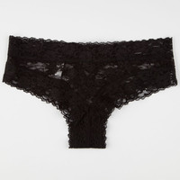 Lace Up Back Cheeky Panties | Panties