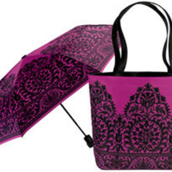 The Met Store - Italian Lace Tote and Umbrella Set