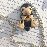 Harry Potter Inspired: Niffler Necklace/Ornament from Fantastic Beasts and Where To Find Them!