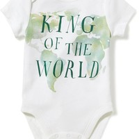 Graphic Bodysuits for Baby   Old Navy