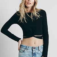 Intimately Womens Knotty Layering Top