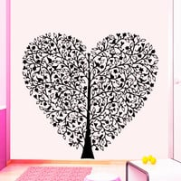 Wall Decal Tree Silhouette Decals Natural Forests for Nursery Room Living Children's Playroom Bedroom Vinyl Stickers Home Decor Murals 3814