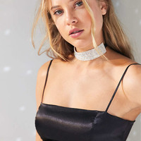 Capulet Gia Satin Spaghetti Strap Cropped Top - Urban Outfitters