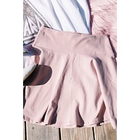 Karlie Tennis Skirt, Dusty Pink