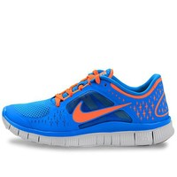 Nike Lady Free Run+ V3 Running Shoes - 6 - Blue
