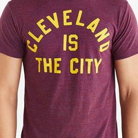 HOMAGE Cleveland Is The City Tee- Maroon