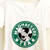 Mad Hatter's Tea Shirt | Alice in Wonderland Coffee Starbucks