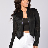 Roll The Dice Jacket - Black