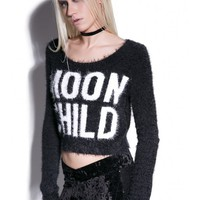 Killstar Dropout Moonchild Sweater | Dolls Kill
