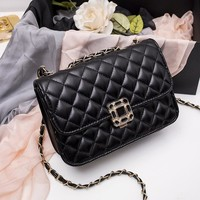 Winter Korean Chain Mini Bags One Shoulder Messenger Bags [6581199495]