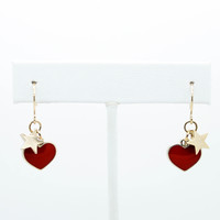 Star of my heart earrings