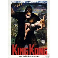KING KONG MOVIE POSTER Rare New Hot Vintage 7