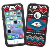 """Folk Tribal """"Protective Decal Skin"""" for OtterBox Defender iPhone 5s Case"""