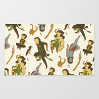 All the Lokis Area & Throw Rug by Leigh Lahav | Society6