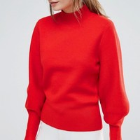 Selected Oversized Knit Jumper at asos.com
