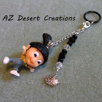 MOD PV Charm Beads Crown charm and Agnes Despicable ME Toy