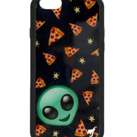 ALIEN PIZZA IPHONE CASE