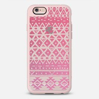 PINK TRIBAL - CRYSTAL CLEAR PHONE CASE iPhone 6s case by Nika Martinez | Casetify