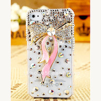iphone 5c case, iphone 5c cover, case for iphone 5c, cute iphone 5c case, bling iphone 5c case, iphone 5c case pink ribbon