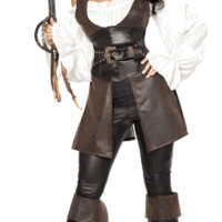 Sexy Vintage First Mate Girl Halloween Costume