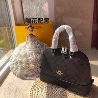 Coach Louis Vuitton Women's Leather Shoulder Bag Coach Tote Coach Handbag LV Shopping Bag LV Messenger Bags
