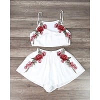 Reverse - Festival Floral Applique Set in More Colors