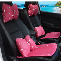 Darling Diamond Car Chic Pillows
