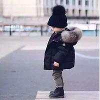 Baby Boys Jacket 2018 Autumn Winter Jacket Coat Kids Warm Thick Hooded Children Outerwear Coat Toddler Girl Boy Clothing