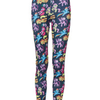 Featuring My Little Pony Print throughout, smooth stretch fabrication, taper cut and finish with elasticized waistband.