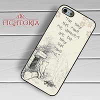 Winnie the Pooh Disney Quote - zzD for  iPhone 4/4S/5/5S/5C/6/6+s,Samsung S3/S4/S5/S6 Regular/S6 Edge,Samsung Note 3/4